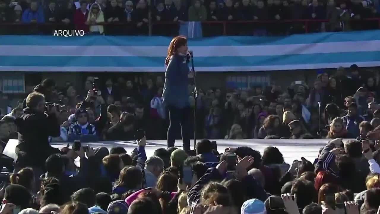Justiça argentina ordena prisão de Cristina Kirchner