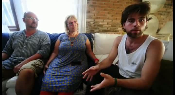 Sobreviventes comentam o naufrágio em Palhoça, Santa Catarina