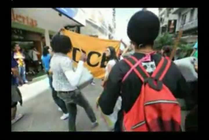A mobilização dos estudantes contra o aumento da passagem de ônibus