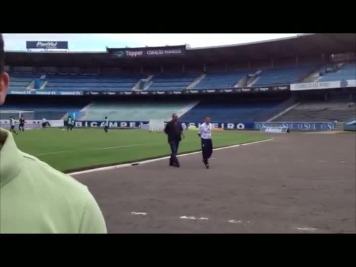Jogo Rápido: Grêmio treina no Olímpico. 04/03/2013