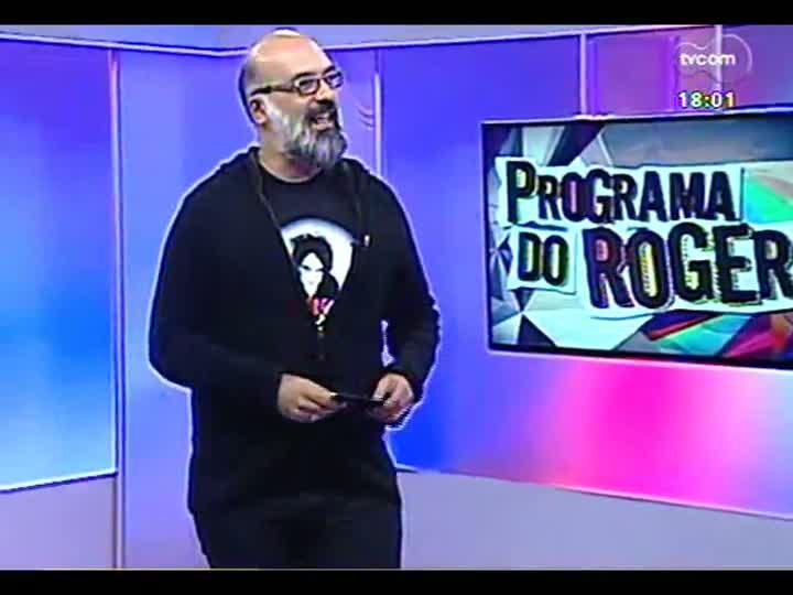 Programa do Roger - Banda Fantomáticos lança o disco \'Dispersão\' - bloco 2 - 16/04/2013