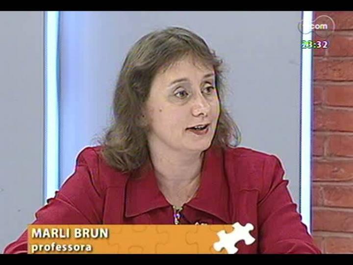 Mãos e Mentes - Professora do Instituto de Educação Ivoti Marli Brun - Bloco 1 - 17/05/2013
