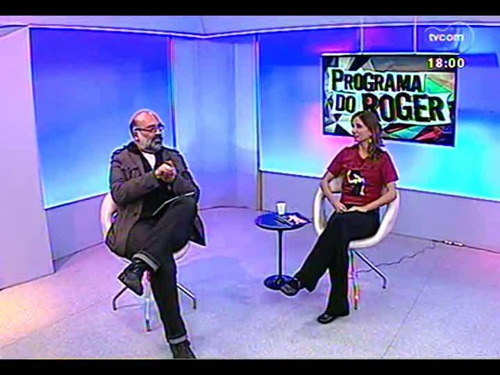 Programa do Roger - Diretora Petra Costa fala sobre filme \'Elena\' - bloco 2 - 24/05/2013