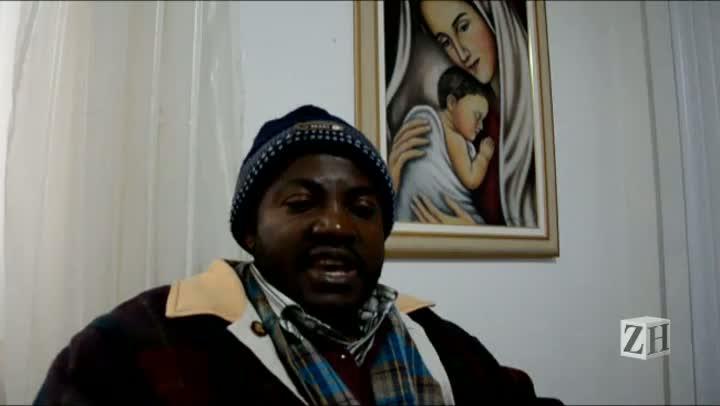 Haitiano explica a adaptação de conterrâneos no Brasil