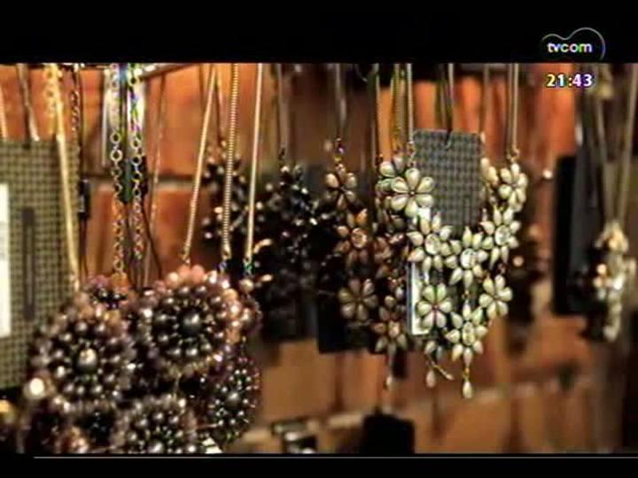 """TVCOM Tudo Mais - Quadro \""""As Patrícias\"""" mostra a coleção \""""Curvas\"""", da marca mineira Lita Raies"""