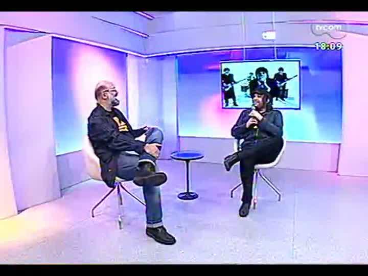 Programa do Roger - Cachorro Grande fala do primeiro DVD e agita o programa - bloco 3 - 10/07/2013