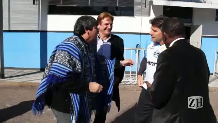O reencontro dos campeões de 83 com Renato