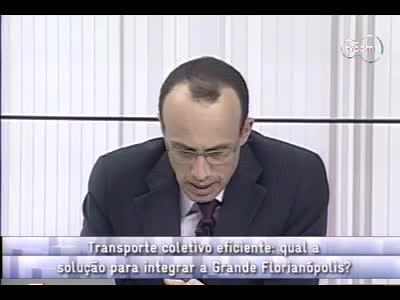 Conversas Cruzadas – Propostas para o transporte coletivo - 2º bloco – 09/09/2013