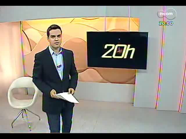 TVCOM 20 Horas - Entrevista com o secretário interino de Infraestrutura, João Victor Domingues - Bloco 1 - 25/09/2013