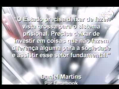 Conversas Cruzadas - Interdição parcial Cadeião do Estreito – 4º bloco – 14/10/2013