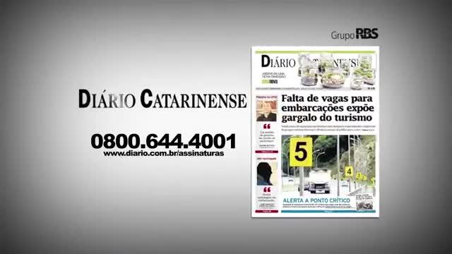 Chamadas Diário Catarinense 14 de novembro de 2013