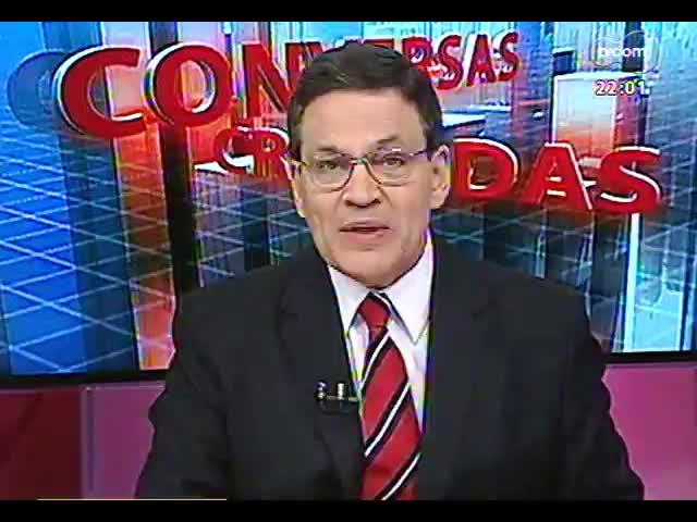 Conversas Cruzadas - Deputados fazem questionamentos acerca da prisão dos condenados do mensalão - Bloco 1 - 18/11/2013