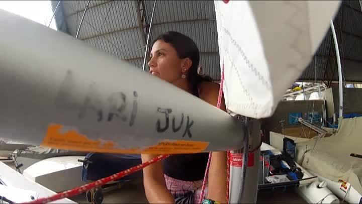 Mar aberto entrevista a velejadora Larissa Juk