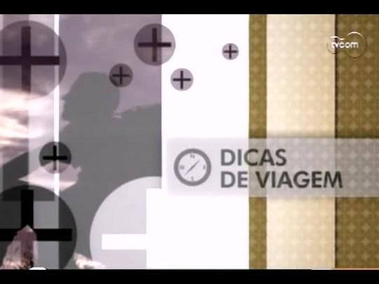 TVCOM Tudo Mais - 2o bloco - Dica de viagem - 16/12/2013