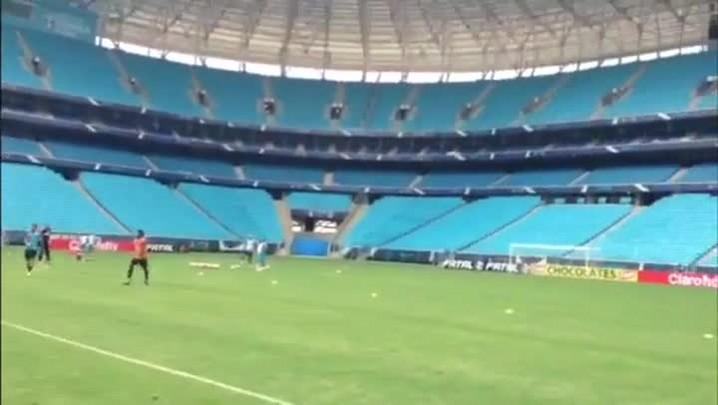 Palco do Gre-Nal: Arena já está pronta para o clássico - 08/02/2014