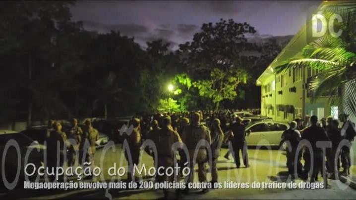 Polícias Civil e Militar fazem megaoperação para prender traficantes em Florianópolis