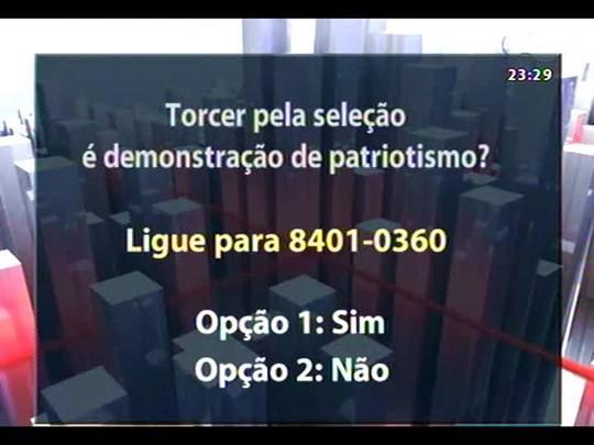 Conversas Cruzadas - Torcidas em tempo de Copa: fanatismo ou patriotismo? - Bloco 3 - 26/06/2014