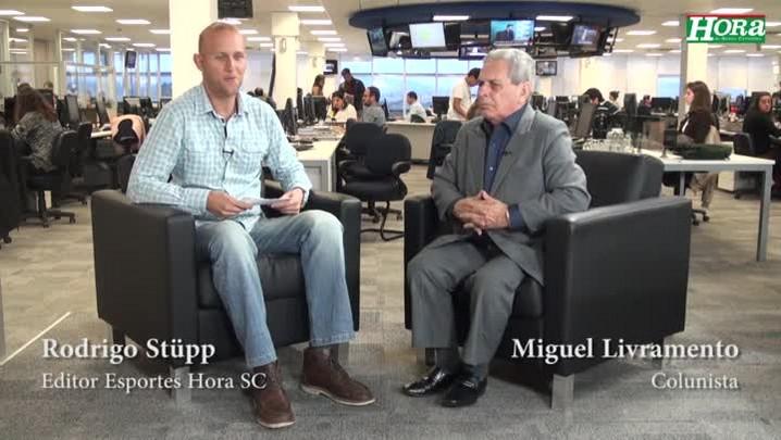 """Em Vídeo, Miguel Livramento escolhe Volpi como o melhor goleiro do Estado: \""""Espetacular\"""""""