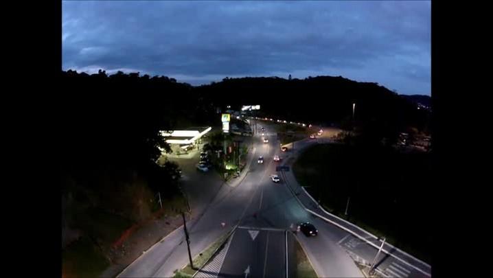 Passeio aereo com drone em Joinville