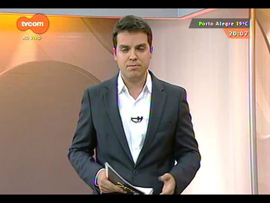 TVCOM 20 Horas - Torcedora que chamou Aranha de macaco fala publicamente pela primeira vez - 05/09/2014