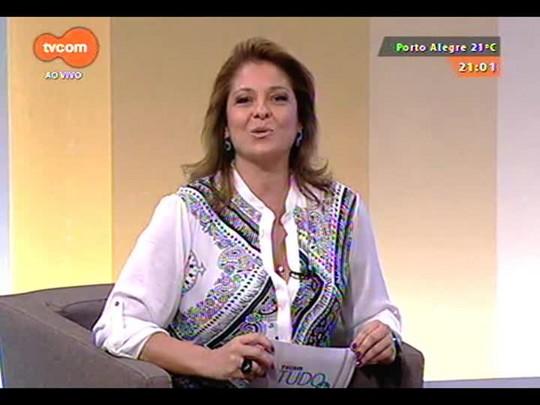 TVCOM Tudo Mais - Felipe Fernandes e Clóvis Heiden falam sobre o Prêmio Jovem Cientista.