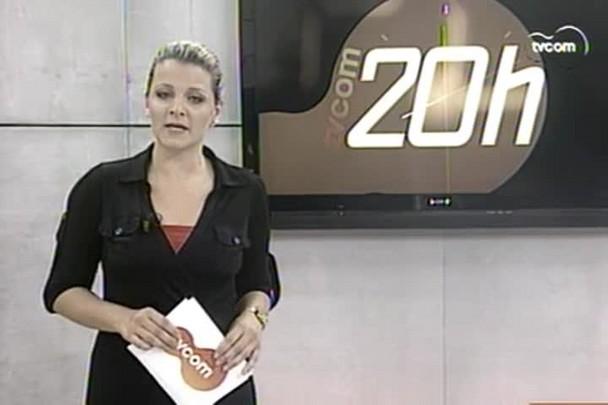 TVCOM 20h - Secretária de Turismo da Capital Maria Claudia Evangelista comenta movimentação na temporada - 30.12.14