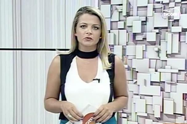 TVCOM 20h - Comitiva catarinense vai a Brasília pedir privatização do aeroporto Hercílio Luz - 20.1.15