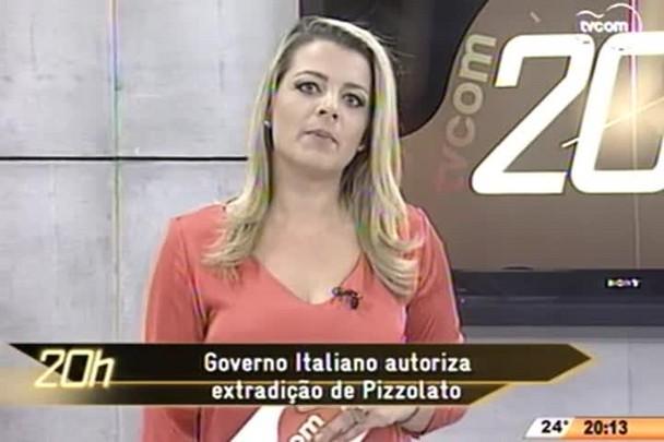 TVCOM 20 Horas - Governo Italiano autoriza extradição de Pizzolato - 10.06.15