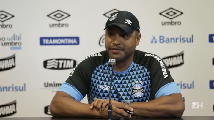 Confira a coletiva do técnico Roger Machado desta sexta-feira