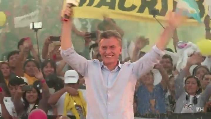 Macri vence eleições na Argentina