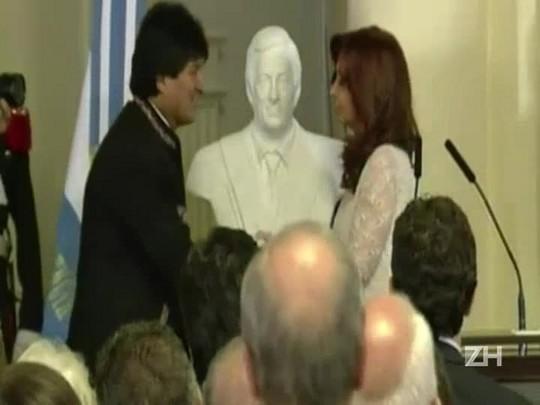 Cristina Kirchner se despede do governo