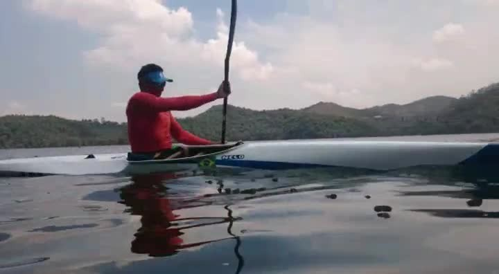 Luis Carlos Cardoso em dia de treinamento
