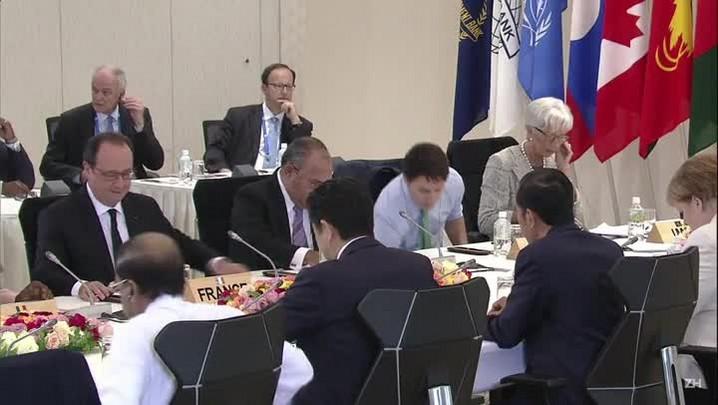G7 encerra cúpula com foco no crescimento econômico
