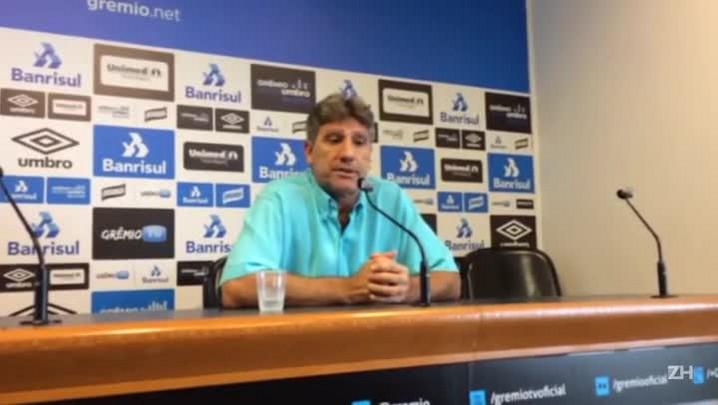 Renato fala sobre confronto com o Cruzeiro