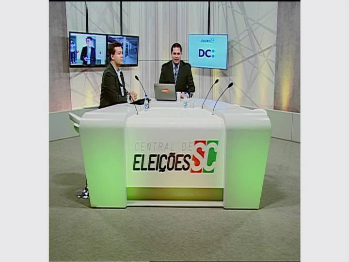 Confira momentos do 2º turno das eleições em Santa Catarina