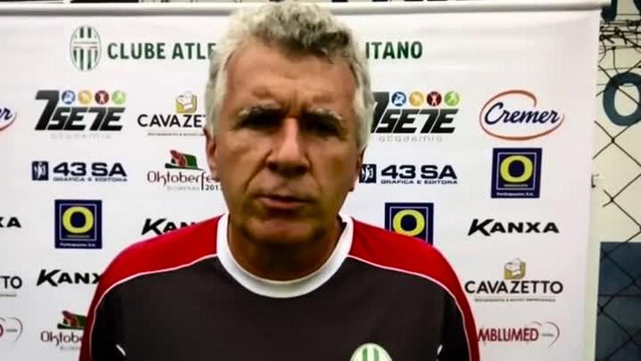 Técnico do Metropolitano, César Paulista fala sobre seu trabalho como técnico