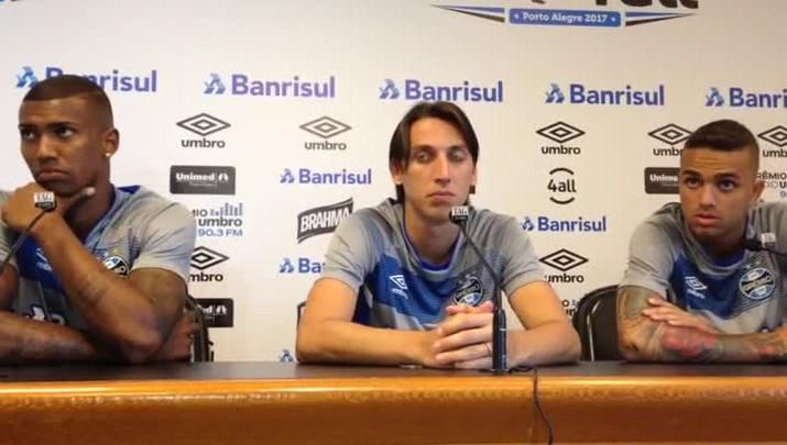 Jogadores do Grêmio falam sobre Jogo da Amizade