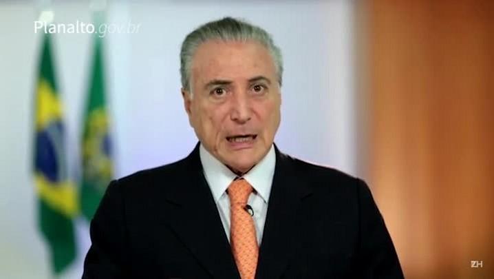 """Temer admite reunião com executivo da Odebrecht, mas nega \""""conversa sobre valores\"""""""
