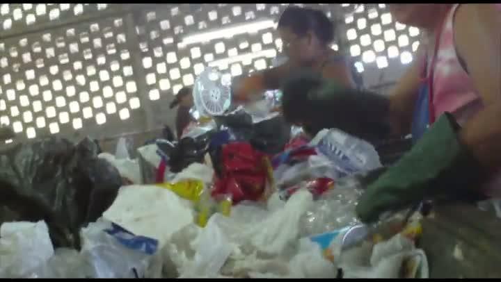 Reciclagem de lixo em Blumenau