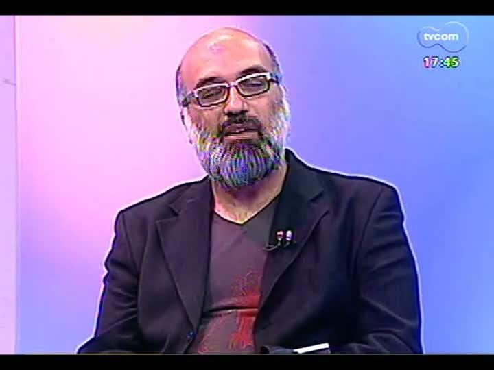 Programa do Roger - artista visual Rommulo Vieira Conceição fala sobre lançamento de catálogo - bloco 1 - 21/03/2013