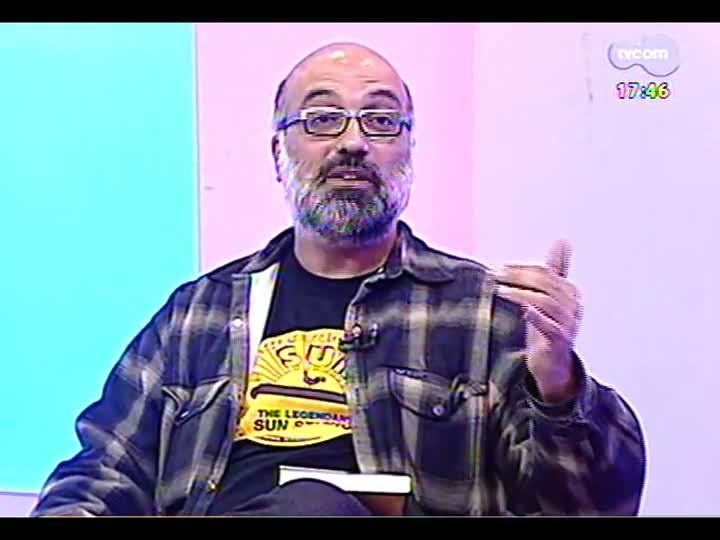 Programa do Roger - Os músicos MV Bill, João Barone e Gustavo Telles conversam com Roger Lerina - bloco 1 - 08/05/2013