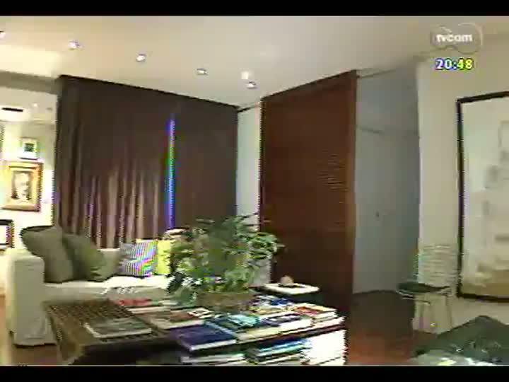 TVCOM Tudo Mais - Tudo+ Casa: um apartamento onde o vazio é respeitado e o espaço é preenchido com cuidado e estilo