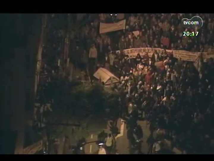 TVCOM 20 Horas - Imagens, acompanhamento dos fatos e análise dos protestos pelo país - Bloco 2 - 17/06/2013