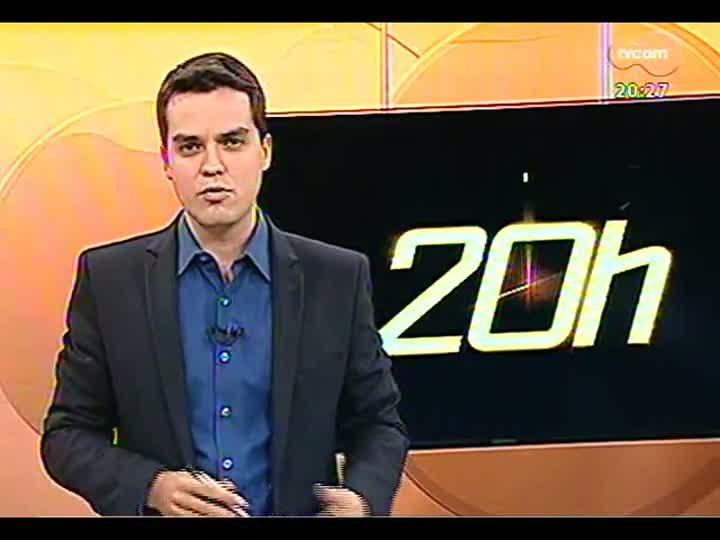 TVCOM 20 Horas - Informações sobre um crime passional - Bloco 3 - 07/08/2013