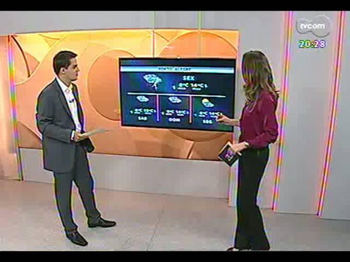TVCOM 20 Horas - Informações sobre o programa Mais Médicos e previsão do tempo - Bloco 3 - 22/08/2013