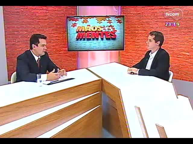 Mãos e Mentes - Presidente da ADVB/RS, empresário Telmo Costa - Bloco 3 - 08/09/2013