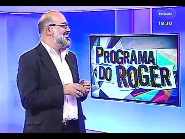 Programa do Roger - Oscar Simch e Ana de Césaro falam sobre o show \'Juízo\' - bloco 4 - 30/09/2013