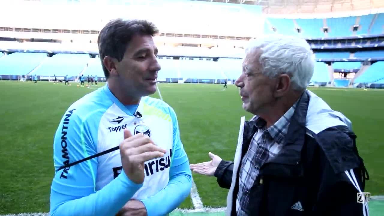 Sant\'Ana e Renato conversam sobre renovação de contrato