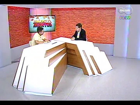 Mãos e Mentes - Coordenador do programa \'Brasil Voluntário\' em Porto Alegre, Márcio Gilberto Silva de Souza - Bloco 4 - 04/12/2013