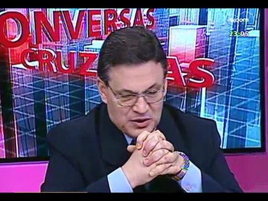 Conversas Cruzadas - A transmissão ao vivo de julgamentos em trinbunais superiores pela TV prejudica a justiça? - Bloco 4 - 03/01/2014